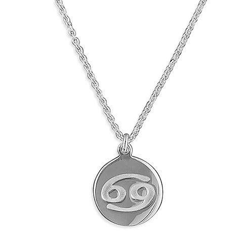 Cancer Zodiac Symbol Necklace