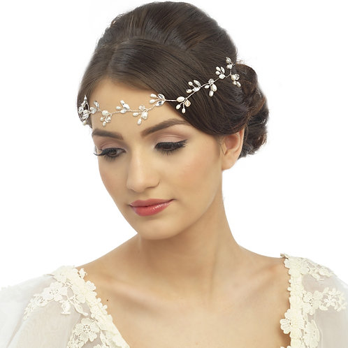 Bridal Hair Vine 'Freshwater Chic' from The Sass B Collection