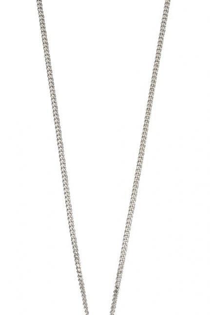 Cushion style amethyst necklace