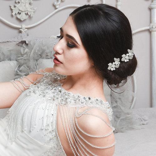 Bridal Hair Comb 'Athena Mini Vintage''