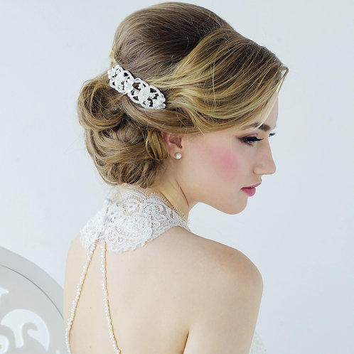 Bridal Hair Comb 'Willow' from Sass Collection