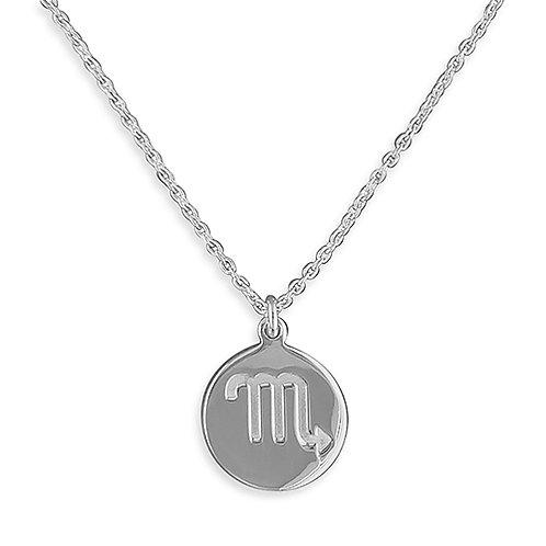 Scorpio Zodiac Symbol Necklace