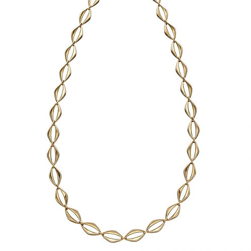 9ct Gold Open Link Necklace