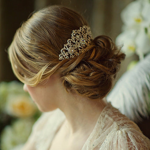 Bridal Hair Comb 'Charlotte' from Sass Collection