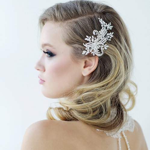 Bridal Hair Comb 'Clarice' from Sass Collection