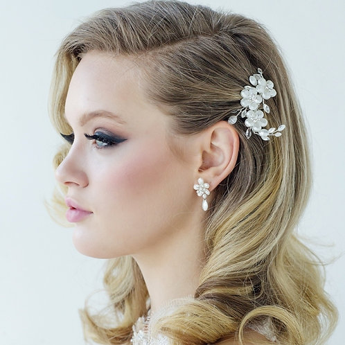 Bridal Hair Comb 'Evalina' from Sass Collection
