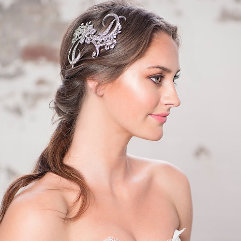 Bridal Hair Comb 'Bejewelled Starlet' from Elite Collection