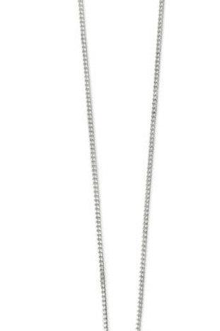 Blue enamel leaf design silver pendant necklace
