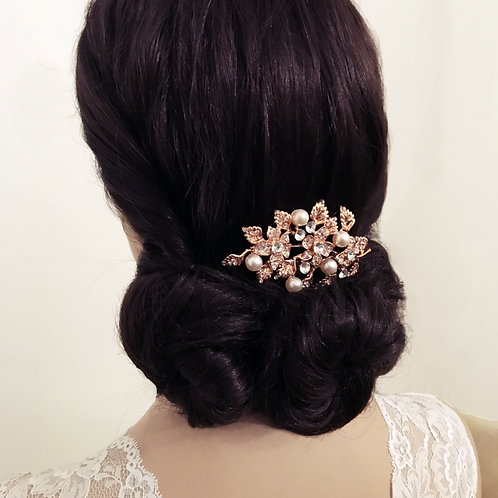 Bridal Hair Comb 'Divine Pearl' from Athena Collection