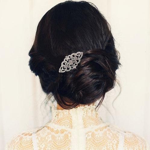 Bridal / Bridesmaid Hair Comb 'Athena Vintage Crystal'