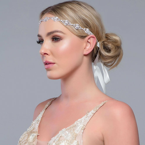 Bridal Hair Vine 'Celine' from The Sass B Collection