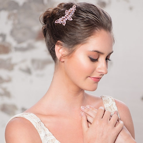 Bridal / Bridesmaids Hair Comb 'Glitzy' from Athena Collection
