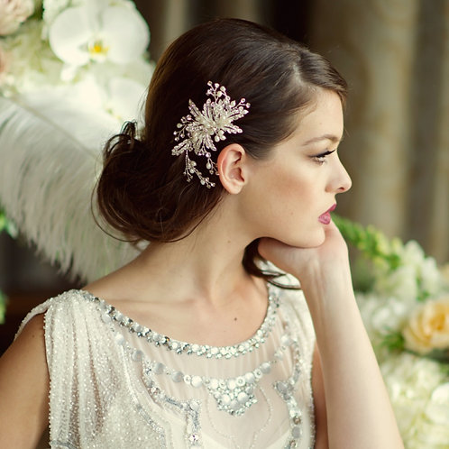 Bridal Hair Comb 'Ophelia' from Sass Collection