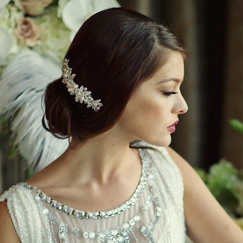 Bridal Hair Comb 'Maisie' from Sass Collection