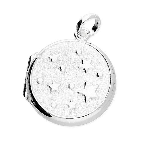 Silver Stars Locket