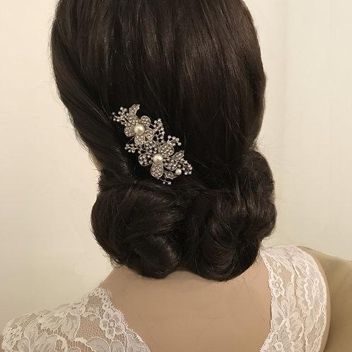 Bridal Hair Comb 'Athena Floral'