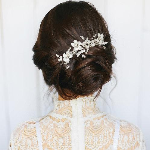 Bridal Hair Comb 'Athena Floral Romance'