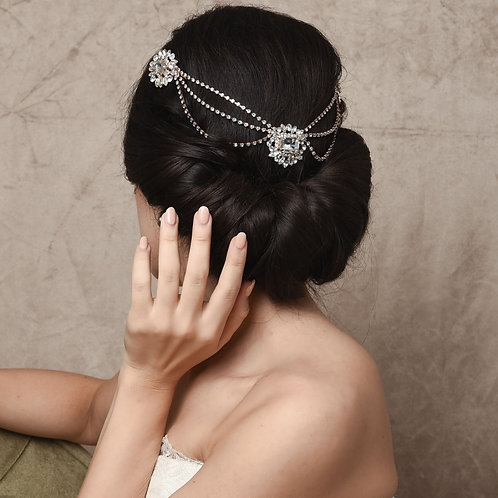 Bridal Hair Piece 'Vintage Heiress' from The Sass B Collection
