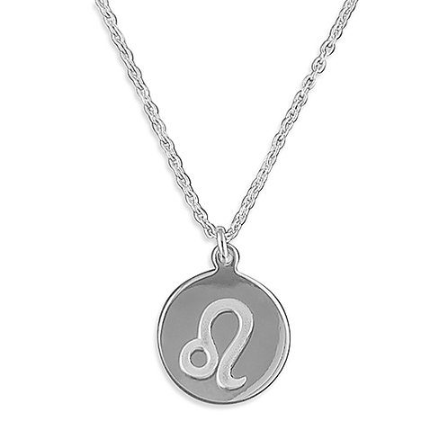 Leo Zodiac Symbol Necklace