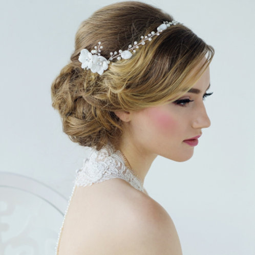 Bridal Hair Vine 'Anais Bohemian Chic' from the Sass Collection