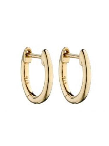 9ct Yellow Gold Huggie Earrings