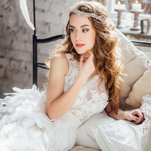 Bridal Hair Vine 'Eva Chic' from The Athena Collection
