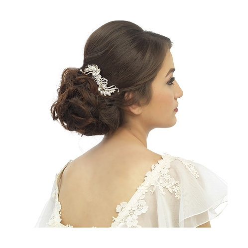 Bridal Hair Comb 'Vintage Chic Crystal' from Athena Collection