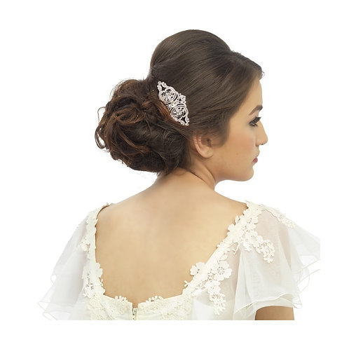 Bridal Hair Comb 'Athena Regal Crystal'