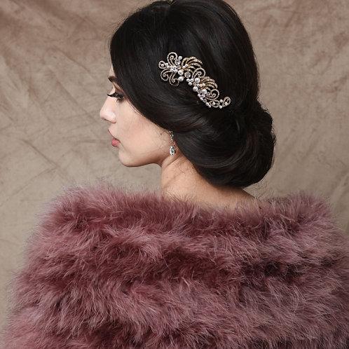 Bridal Hair Comb 'Athena Vintage Charm'