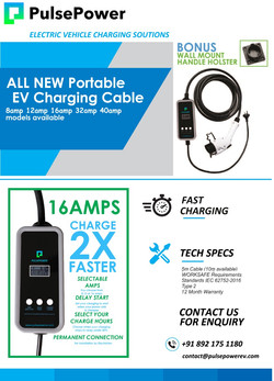 PulsePower - Portable Charger Flyer