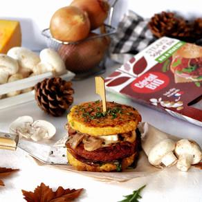 Veggie burger d'automne (sans pain)