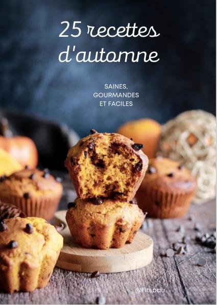 EBOOK - 25 recettes d'automne