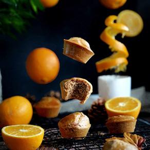 Les muffins à l'orange