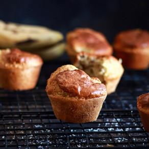 Banana muffins à la noix de coco