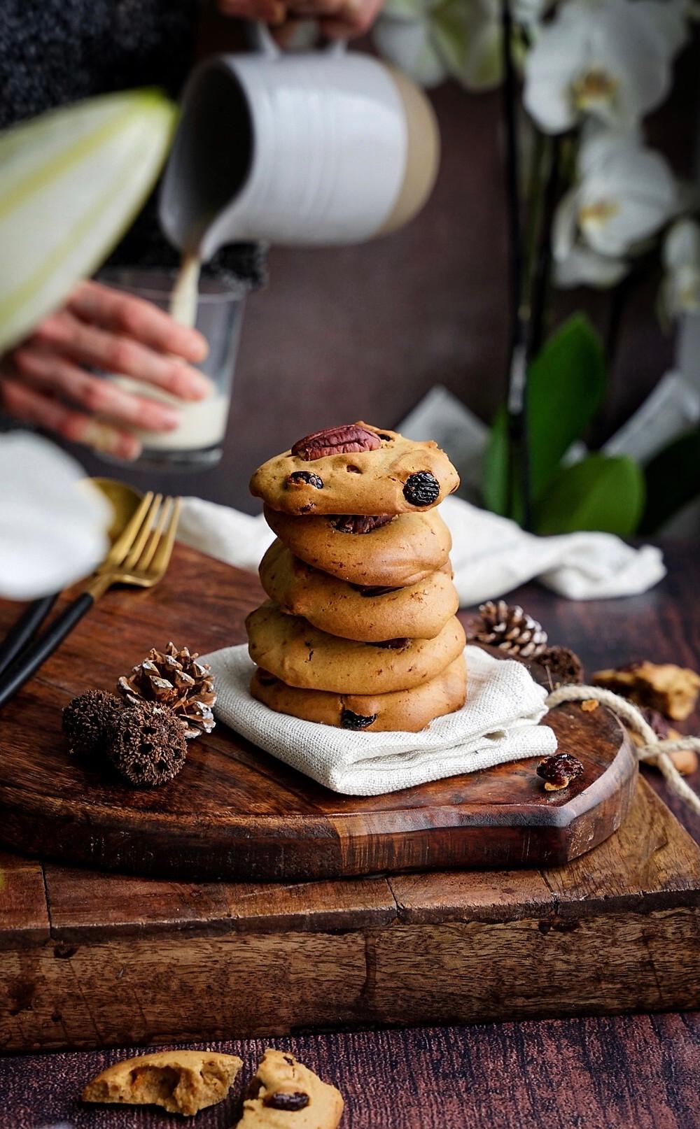 Cookies cranberries pecan