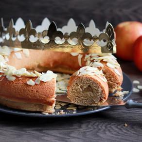 La couronne des rois briochée fourrée à la pomme
