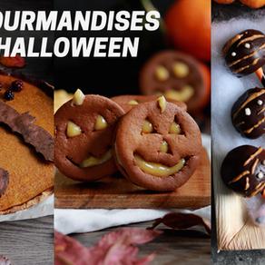3 gourmandises d'halloween
