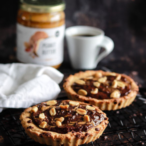 Cookie'tarte choco peanut