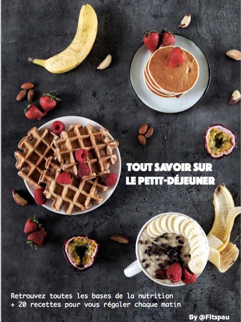 EBOOK - Tout savoir sur le petit-déjeuner
