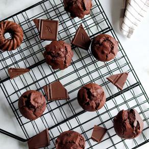 Muffins au chocolat healthy