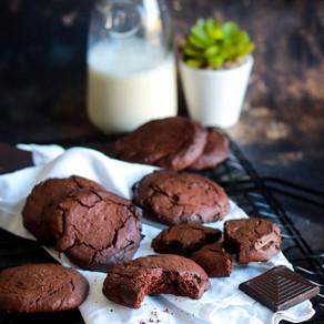 Les cookies façon brownie