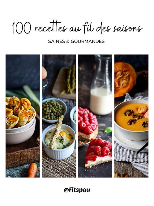 LIVRE - 100 recettes au fil des saisons