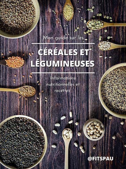 EBOOK - Mon guide sur les céréales et légumineuses