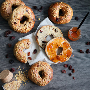 Bagels aux raisins