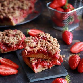 Le magic crumble aux fraises
