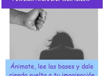 """CONCURSO DE PÓSTERES """"PREVENCIÓN DE LA VIOLENCIA DE GÉNERO""""."""