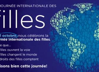 Journée internationale des filles: Célébration ce 11 octobre