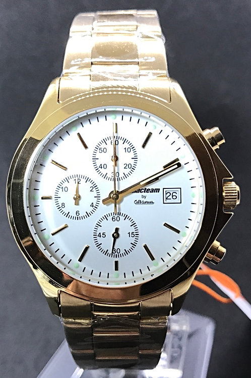 Macteam Chronograph Gold Plated JPG