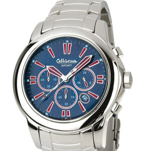 Altanus SPORT Chrono Polished Stainless Steel