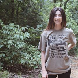 Brand new t-shirt design!  Printed on pi